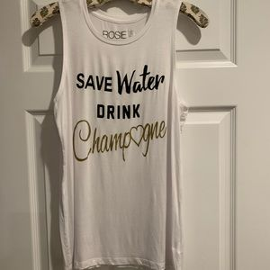Tops - Champagne Tank Top